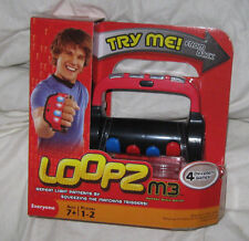 LOOPZ M3 Game Handheld Memory Game Red Edition NIB BRAND NEW