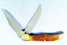 "Vintage Case XX Green Bone Folding Hunter Knife 6265 1940-64 ""Flat Blade""  #434"