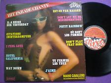SEXY COVER LP MARIO CAVALLERO FRANCE 1978 Disco SEMI Hervé CHEESECAKE