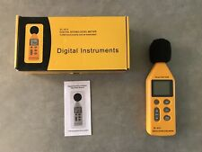 Digital Instruments SL-814 Sound Noise Level 40-130dB Meter Decibel Measure