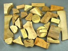 10kg Box of woodturning offcuts. Wood off cuts. Yew, Elm, Mulberry, Walnut etc.
