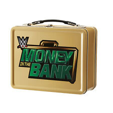 MONEY IN THE BANK Caja Metálica FIAMBRERA Maletín Funda WWE Wrestling Réplica