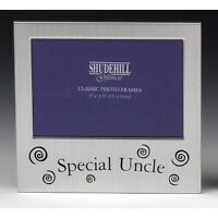 Special Uncle Satin silver photo frame-shudehill Giftware