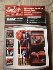 Rawlings Ultimate Sports Equipment Organizer Holds Up To 50 Lbs Fssb36 New