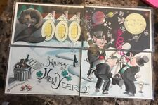 Flying Rabbit Happy New Year 2000 by Charles Hazard Installment 4 Postcards
