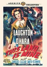 THIS LAND IS MINE - (1943 Maureen O'Hara) Region Free DVD - Sealed