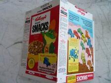1973 Kellogg's Sugar Smacks Model Antique Cars Cereal Box