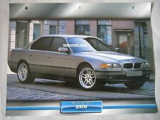 BMW 740D Dream Cars Card
