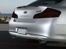 For: Infiniti G37 Sedan | Smoked Taillight Overlays Tint Film Tails black out