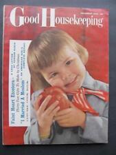 Nov 1958 Good Housekeeping Magazine Mid Century Married A Moslem Bridal Showers+