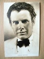 Film Actors Postcard- CHARLES BICKFORD ''Film Weekly, London''