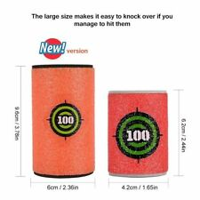 6p/lot for Nerf Gun Bullet big Target Toy Soft N Strike Dart Shoot Eva Blaster