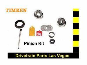 TIMKEN Pinion Bearing Rebuild Overhaul Kit For Nissan Titan 2004-2014 Rear End
