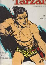 C1 Edgar Rice BURROUGHS - TARZAN Ed Azur 1967 BURNE HOGARTH Relie avec Jaquette