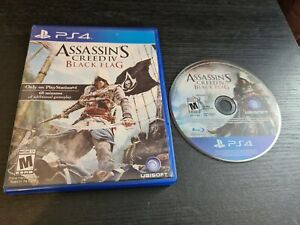 Assassins Creed IV Black Flag PS4 (PlayStation 4) GC. Free P+P. FAST DISPATCH.