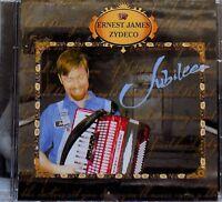 ERNEST JAMES ZYDECO jubilee - CD cajun