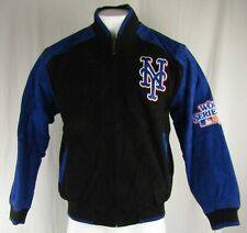 New York Mets MLB G-III Men's World Series Leather Jacket
