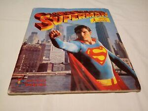SUPERMAN PANINI COMPLETE (-4) ALBUM YUGOSLAVIA EDITION VERY RARE
