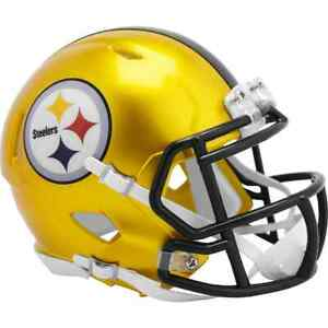 Pittsburgh Steelers Riddell FLASH Alternate Revolution Speed Mini Helmet