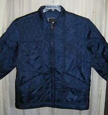 Mens RocaWear Parka Jacket Coat Sz XL Dark Navy Blue Jay Z Rocafella