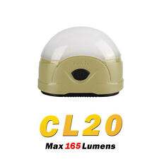 Fenix CL20 Neutral White & Red LED Compact Camping Lamp Lantern - Olive Green