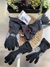 $158- Outdoor Research Super Couloir ® Glove System 2 Pair Gore-Tex Men's Sm