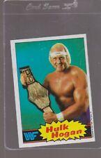 Hulk Hogan 1985 Topps WWF #16