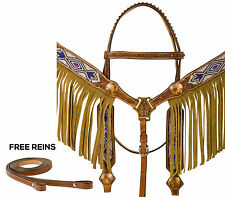NEW WESTERN SHOW HORSE TACK SET BLING BARREL RACING SILVER LOT BRIDLE HEADSTALL