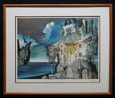 "Salvador Dali ""Tristan Fou"" Hand Signed, Framed, Limited Edition Lithograph"