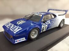 Bmw M1 1/43 Minichamps Denim H. Heyer #81 No Ixo Vitesse Schuco Politoys