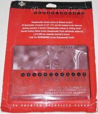 1997 Michael Jordan Journal Chicago Bulls Upper Deck 24 Jumbo Card Set Brand New