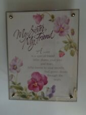 My Sister My Friend Music Box Summit Collection Exclusive Plays Memory Table Top