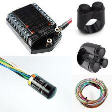 """MOTOGADGET M-UNIT V2 M-button Cable Kit  Motone 2 & 3 Button Switches 7/8"""" Bars"""