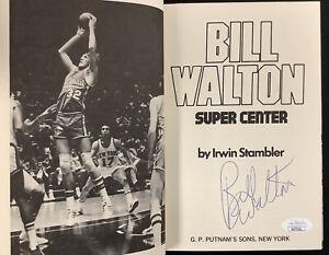 Bill Walton Signed Book Super Center HCB Basketball Boston Celtics Auto HOF JSA