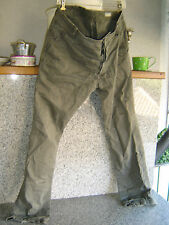 G-STAR JEANS Bronson chino Tappered Pantaloni Size 34/32 Vintage Old Shool Top gay
