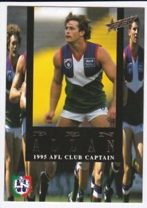 1995 Select Club Captain Card -  Ben Allan  CC8