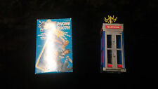 Bill And Ted's Excellent Adventure Phone Booth Kenner 1991 BILL AND TED