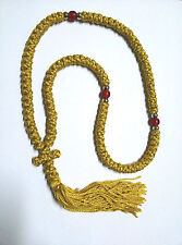 Handmade Orthodox Blessed Chotki Komboskoini Κombosxoini Prayer Rope 100 Knots