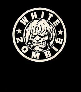 WHITE ZOMBIE cd lgo CLASSIC ZOMBIE LOGO Official SHIRT LRG New rob zombie