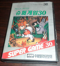 Sega Mega Drive. Super Games 30 (NTSC Korean) MarkIII games on MD (Samsung?)