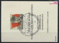 DDR Block14 (kompl.Ausg.) gestempelt 1956 Ernst Thälmann (9158036