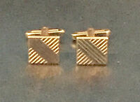 RONALD REAGAN Worn Used Owned Cufflinks 1974 NBC Wardrobe Prop LOA PROVENANCE