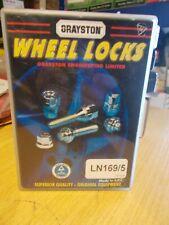 Grayston Locking Wheel Nuts LN169/5 Toyota Rav4 Land Cruiser OE Type Alloy Wheel