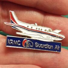 Lapel Pin - KRMC Guardian Air plane shaped hat pin - smalll private size plane