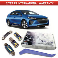 Hyundai Ioniq LED Interior Kit Premium 7 SMD Bulbs White Error Free