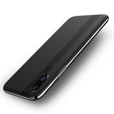 F iPhone X 8 7 Plus Luxury Slim Shockproof Hybrid Thin Kickstand Hard Case Cover for iPhone 7 Black
