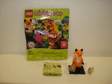 LEGO MINIFIGURES 71025 SERIES 19 -  #14 FOX SUIT GUY - NEW OUT OF PACK