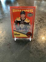 2019-20 O-PEE-CHEE PLATINUM RETRO ROOKIE RED PARALLEL AUTO BRUINS Trent Frederic