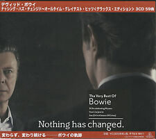 DAVID BOWIE-NOTHING HAS CHANGED-JAPAN 3 CD J24