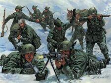Alpini Italian Mountain Troops WWII Figures Plastic Kit 1:72 Model ITALERI